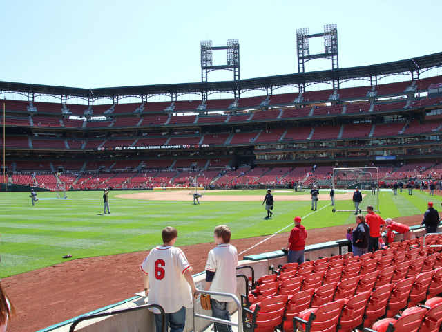 Cardinals Seats - Roofing Contest